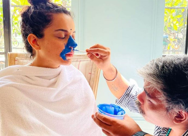 Kangana Ranaut undergoes body and face scan to transform into former Prime Minister Indira Gandhi for the film Emergency