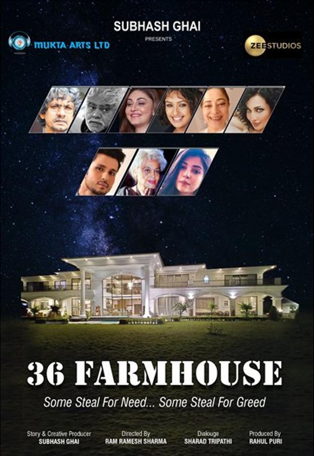 Subhash Ghai's production 36 Farmhouse starring Amol Parashar and Barkha Singh to be directed by Ram Ramesh Sharma