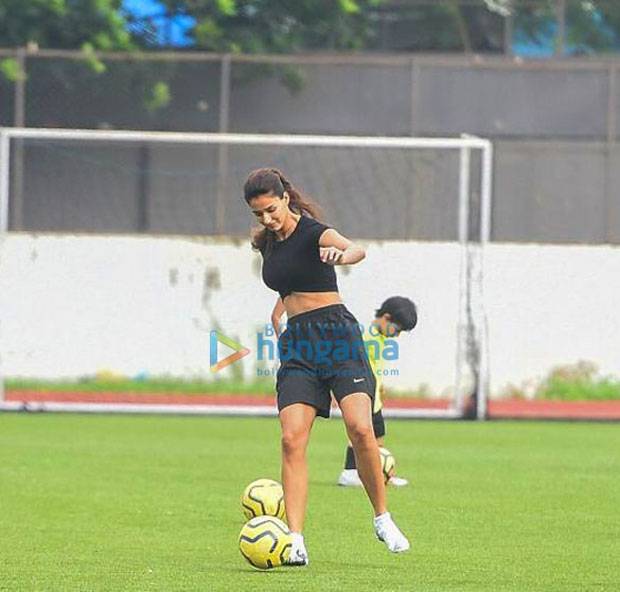 Disha Patani spends Sunday evening playing football with Ranbir Kapoor, Tiger Shroff, Arjun Kapoor