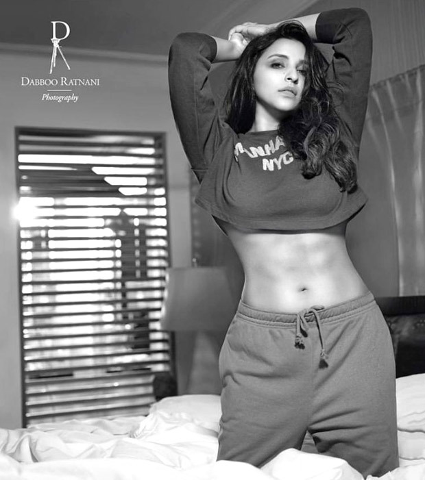 Parineeti Chopra flaunts her toned midriff in the Dabboo Ratnani 2021 calendar shoot