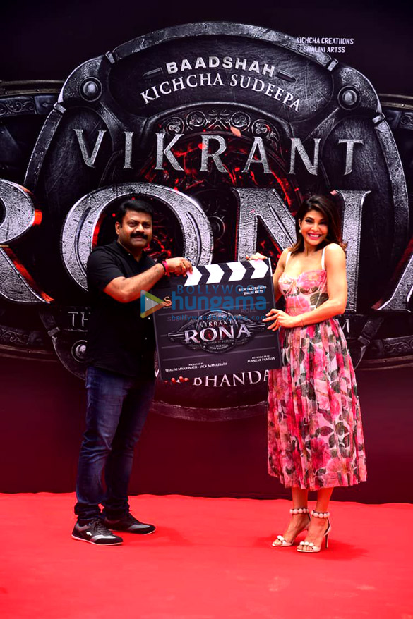 Photos Jacqueline Fernandez unveils her look from the film Vikrant Rona (1)