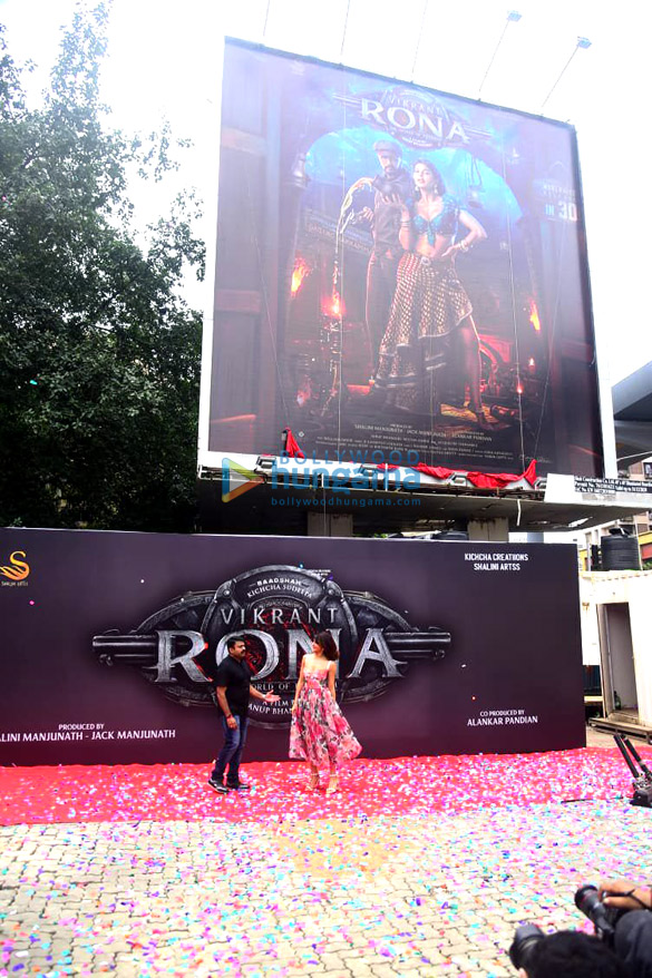 Photos Jacqueline Fernandez unveils her look from the film Vikrant Rona (4)