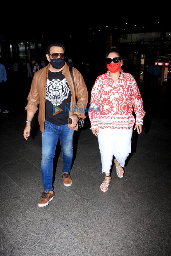 Photos Malaika Arora, Govinda and Sunita Ahuja snapped at the airport (3)