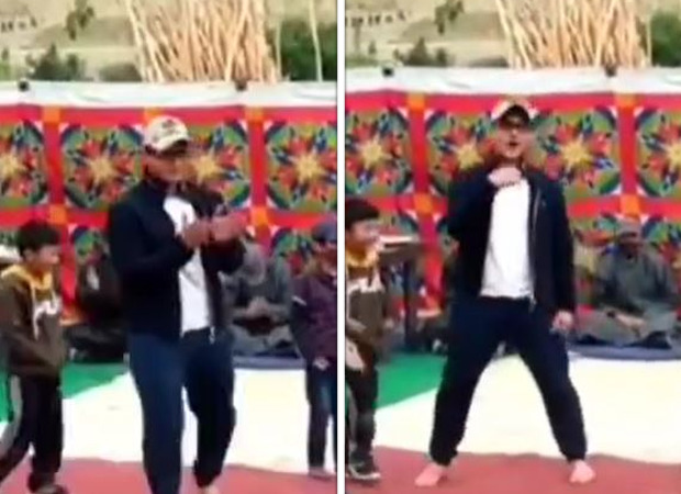 Aamir Khan dances to the tune of 'Aal Izz Well' with kids on the sets of Laal Singh Chaddha in Ladakh