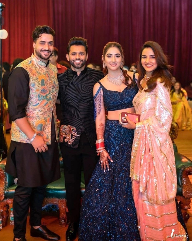 Inside Pics & Videos: Newlyweds Rahul Vaidya-Disha Parmar enthrall with dance performances; Aly Goni, Jasmin Bhasin among others enjoy after-party