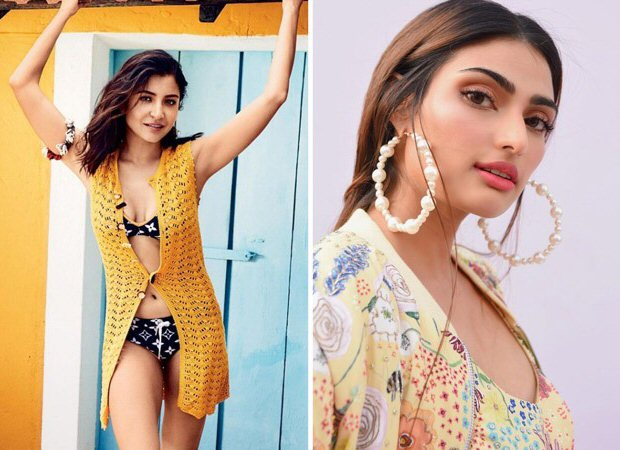 """""""You're really stepping up on your fitness goals in the last leg, says Anushka Sharma as she pokes fun at Athiya Shetty"""