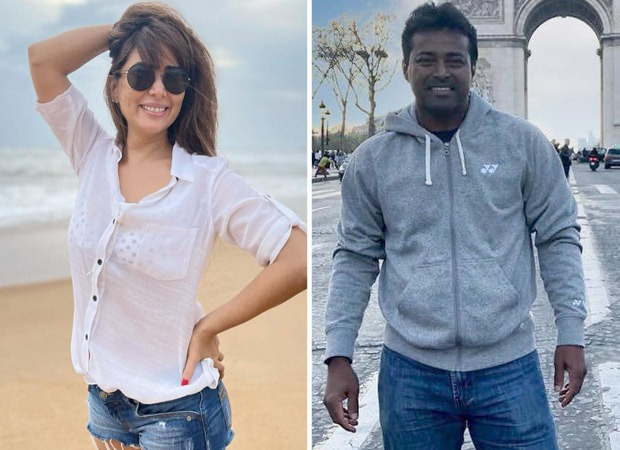 Kim Sharma spotted with alleged boyfriend Leander Paes