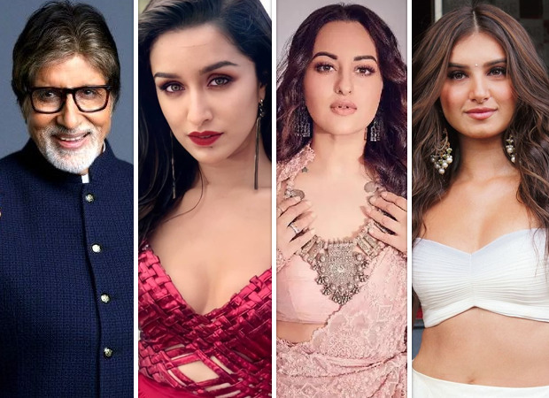 Amitabh Bachchan, Shraddha Kapoor, Sonakshi Sinha, Tara Sutaria to come together for a project