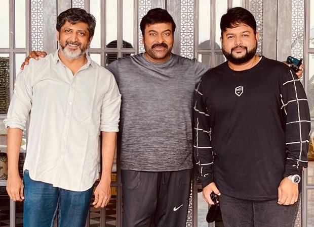 Chiru153: Chiranjeevi begins filming for the Telugu remake of Lucifer