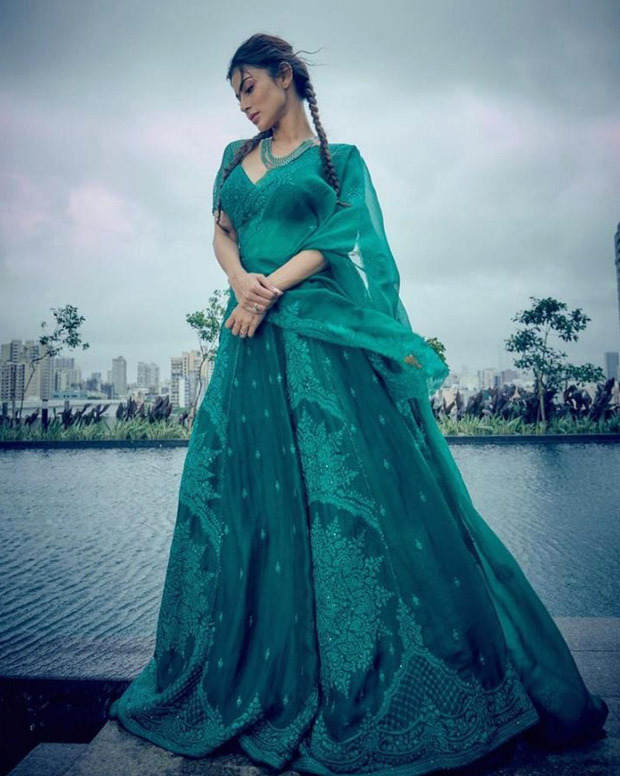 Color of the week : Mouni Roy, Madhuri Dixit, Nora Fatehi and others slay in different shades of green