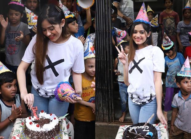 Jannat Zubair celebrates her 20th birthday with children at an orphanage