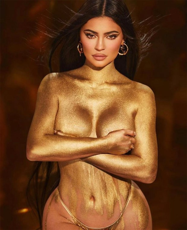 Kylie Jenner Topless