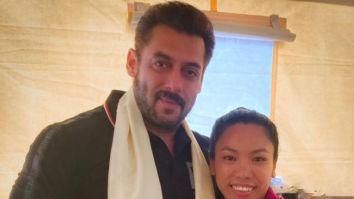 Salman Khan meets Olympic silver medalist Mirabai Chanu