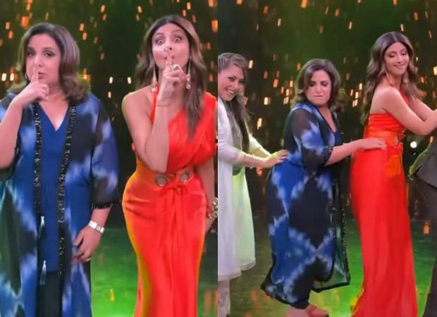 Shilpa Shetty Kundra, Geeta Kapur, Farah Khan and Ritvik Dhanjani  shake a leg on 'Touch It' on the sets of Super Dancer: Chapter 4