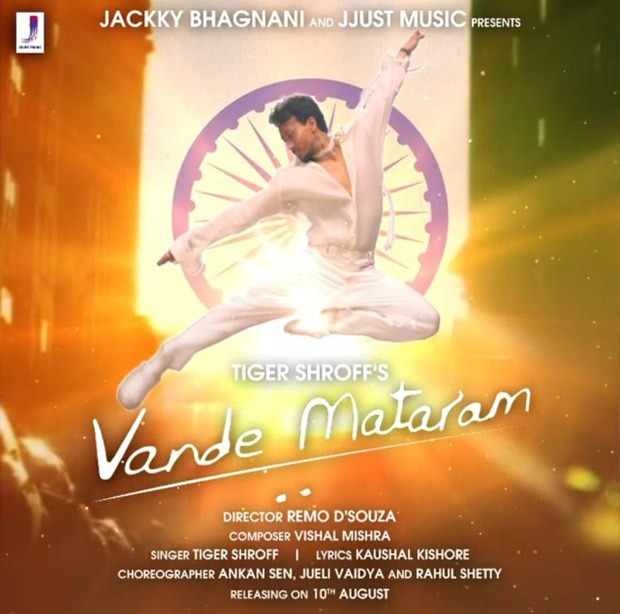 Tiger Shroff to croon 'Vande Mataram', song to release on August 10
