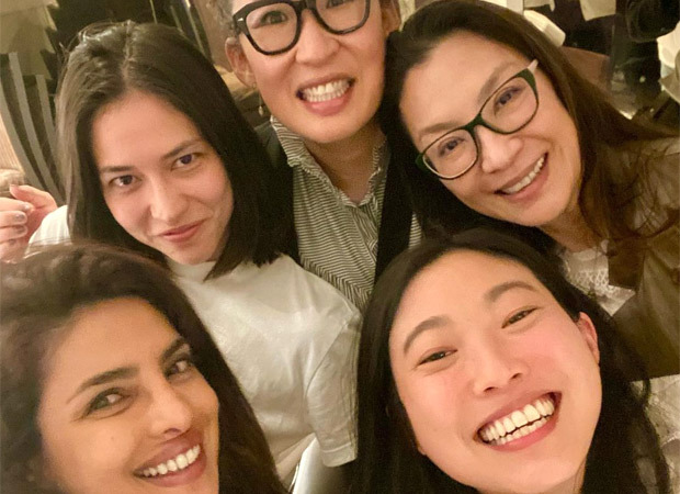 Priyanka Chopra Jonas dines out with Awkwafina, Michelle Yeoh, and Sandra Oh, celebrate Asian pride together