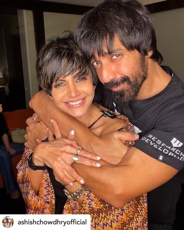 Mandira Bedi expresses gratitude to Ashish Chowdhry for 'All the Love,' and he refers to her as a 'Solid Girl'