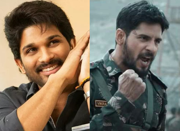 Allu Arjun says Shershaah a must-watch for every Indian; calls it Sidharth Malhotra's career-best performance