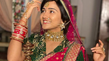 """It was a special moment for both of us,"""" reveals Ashi Singh as she sports her reel-life mother's wedding outfit for Meet's marriage sequence"""