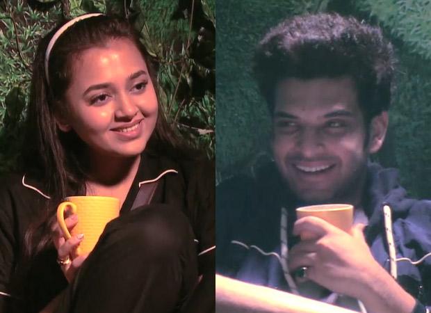 Bigg Boss 15 Karan Kundrra compares Shamita Shetty with his ex-girlfriend Anusha Dandekar as he opens with Tejaswwi Prakash