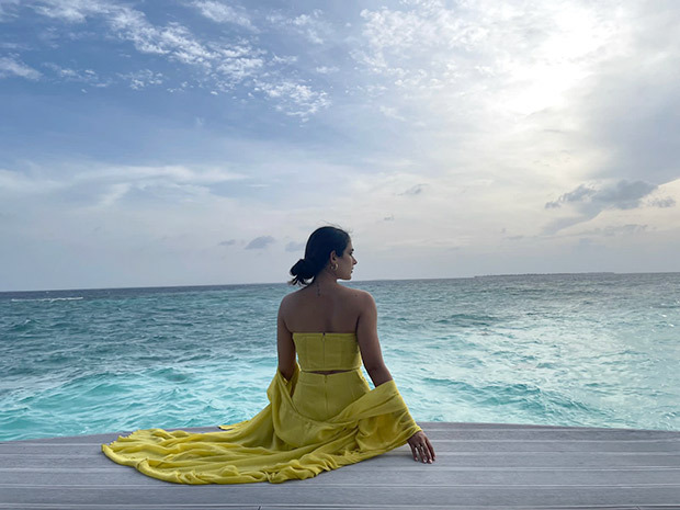 Aakanksha Singh chronicles her trip to the Maldives with a set of stunning pictures