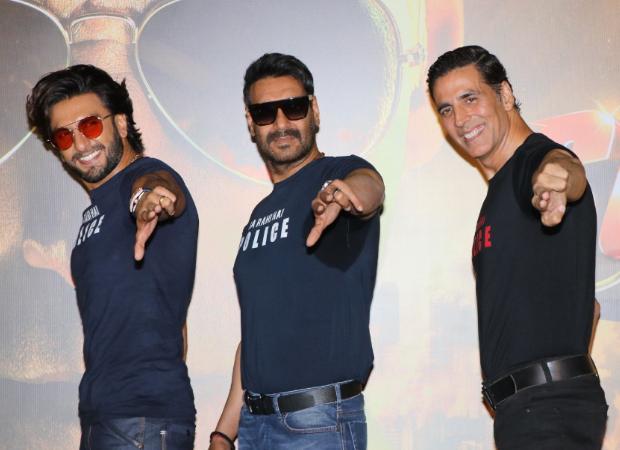 Akshay Kumar, Ajay Devgn & Ranveer Singh to feature in Sooryavanshi song 'Aila Re Aila' releasing on October 21