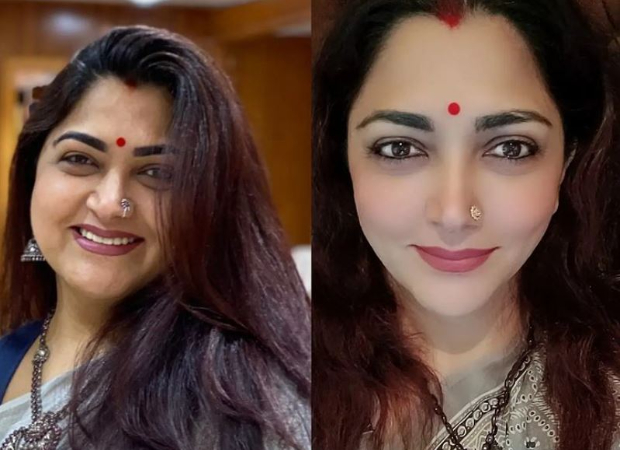 Kushboo Sundar loses 15 kilos; shares then-and-now picture