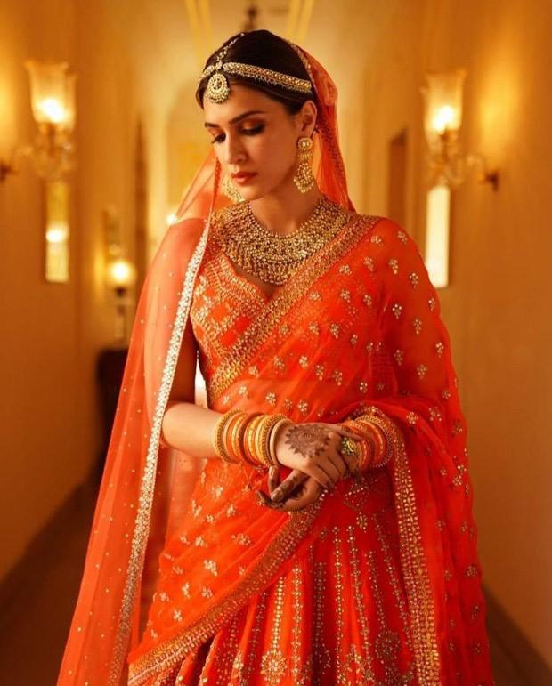 Kriti Sanon radiates regality with her latest look